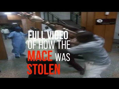 FULL VIDEO of how the mace was stolen from National Assembly
