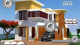 Indian House Design By 99HOMEPLANS COM [ Esp: M011