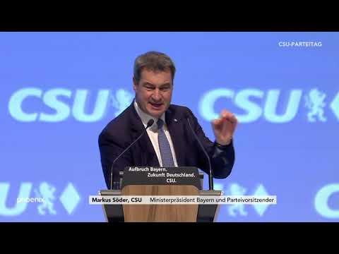CSU-Parteitag: Rede von