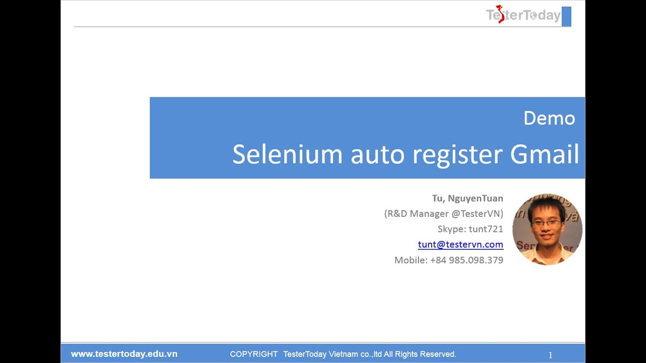 how to add a gmail account to iphone testervn selenium webdriver auto register gmail demo 1292