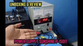 Unboxing Review Power Supply Servis HP SUNSHINE P-150T