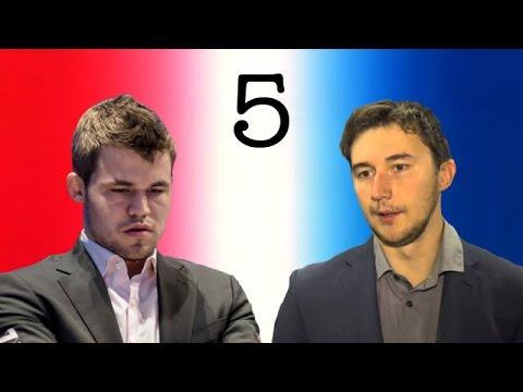 Magnus Carlsen vs Sergey Karjakin | 2016 World Chess Championship | Game 5