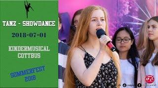 Cottbuser Kindermusical Sommerfest 2018 - Musicalvorstufe 1/2