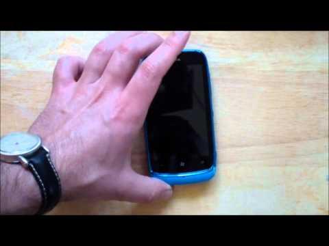 Unboxing - Nokia Lumia 610 with Windows Phone Tango