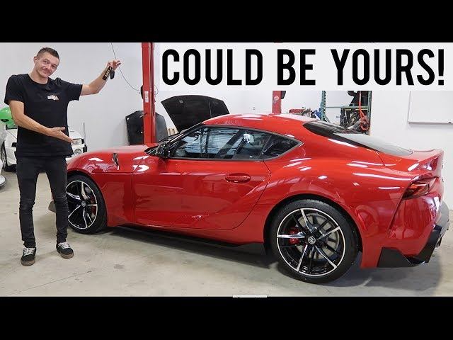 I M Giving Away My 2020 Supra Youtube We looked inside some of the tweets by @stevewilldoit and here's what we found interesting. i m giving away my 2020 supra youtube