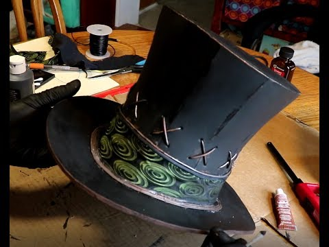 How To Make A Flared Steampunk Top Hat