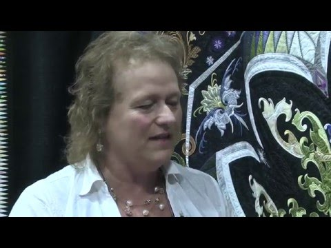 Colette Dumont - 1st Place, Large Wall Quilts: Home Machine Quilted