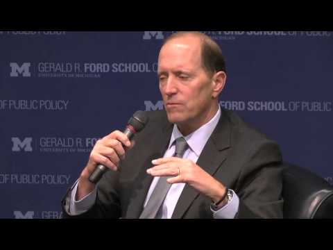 .@fordschool - A conversation with former Republican Congressmen Mike Rogers and David Camp