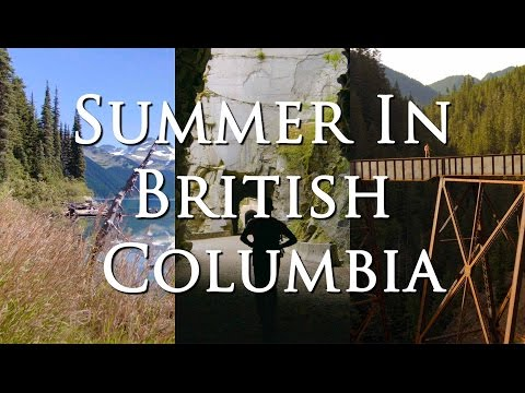 Epic Travel Video of Backcountry B.C.