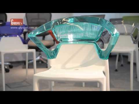 Krzesła Konferencyjne Iris - funkcje  EFEKT STYLE