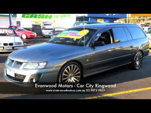 VZ holden wagon - Evanwood Motors - Car Sales -