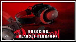 Unboxing Redragon Zeus 2 By Falcão Marques