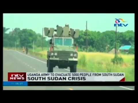 Uganda army fails to evacuate its citizens from South Sudan