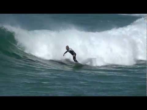 surfer off bronte beach, sydney, 16 sept 2012, sony hx20 superzoom