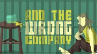 The Wrong Company - Flogging Molly (Lyrics Animation - Fan Made)