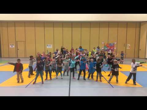 Torrence Creek Elementary School Panthers dance!