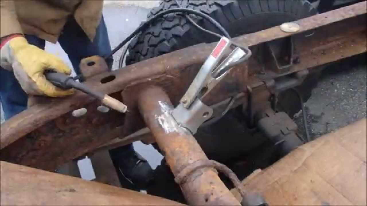 CHEVY SILVERADO REAR UPPER SHOCK MOUNT REPLACMENT - YouTube
