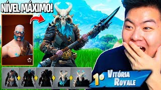 I GOT THE RAGNAROK MAXIMUM LEVEL [SANS dépenser V-BUCKS]!! -Fortnite Bataille Royale