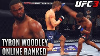 Tyron Woodley Is A MONSTER! Dangerous Hands and Leg Kicks! EA UFC 3 Online Gameplay