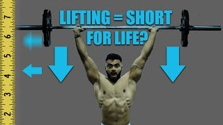 DOES LIFTING WEIGHTS STUNT HEIGHT GROWTH? | Explained with SCIENCE