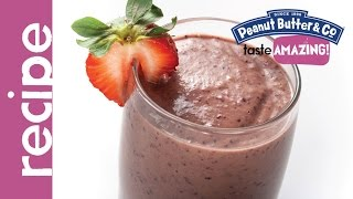 Vegan Peanut Butter Acai Berry Smoothie Recipe