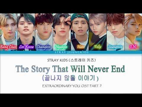 """Download Extraordinary You OST Part. 7 STRAY KIDS - """"The Story That Will Never End"""" 