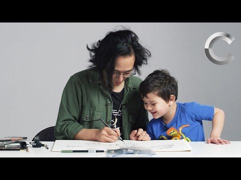 Kids Describe God to an Illustrator   Kids Describe   Cut