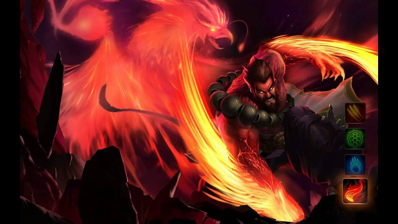 Free Animated Wallpaper Backgrounds Udyr Phoenix Dreamscene Hd Wallpaper Animated