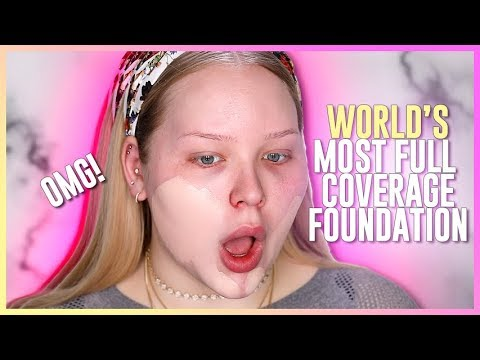 WORLD'S MOST FULL COVERAGE FOUNDATION?? | NikkieTutorials