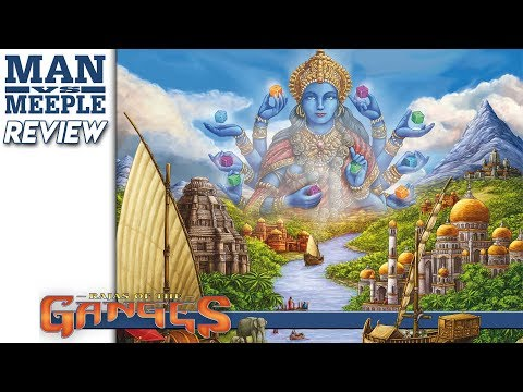 Rajas of the Ganges (R&R Games) Review by Man Vs Meeple