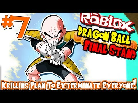 KRILLIN'S PLAN TO EXTERMINATE EVERYONE! | Roblox: Dragon Bal