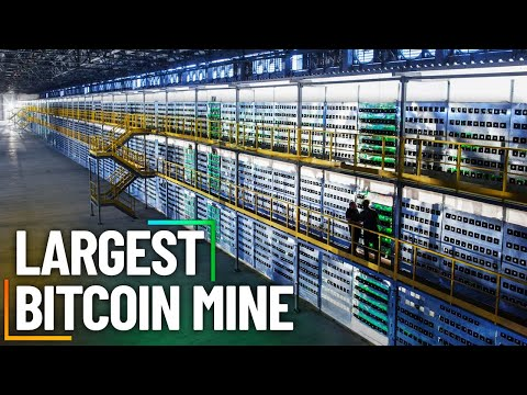 Inside The World's Largest Bitcoin Mine