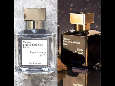 Новинки 2018г ❤M.F.Kurkidjian Oud Silk Mood,Aqua Celestia