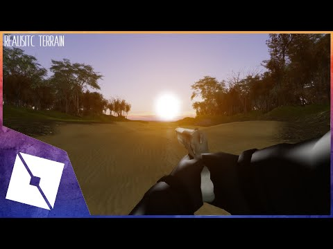 ROBLOX Edits | Making Realistic Terrain For FPS Games