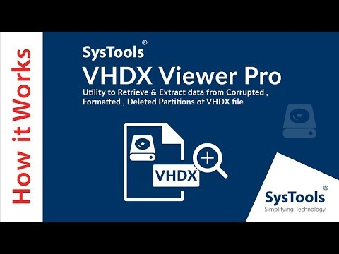 VHDX Recovery Tool to Repair & Recover Corrupted VHDX File