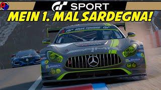 MEIN 1. MAL IN SARDEGNA!   Gran Turismo Sport   MERCEDES AMG GT3 @ Sardegna B   Let's Play GT Sport