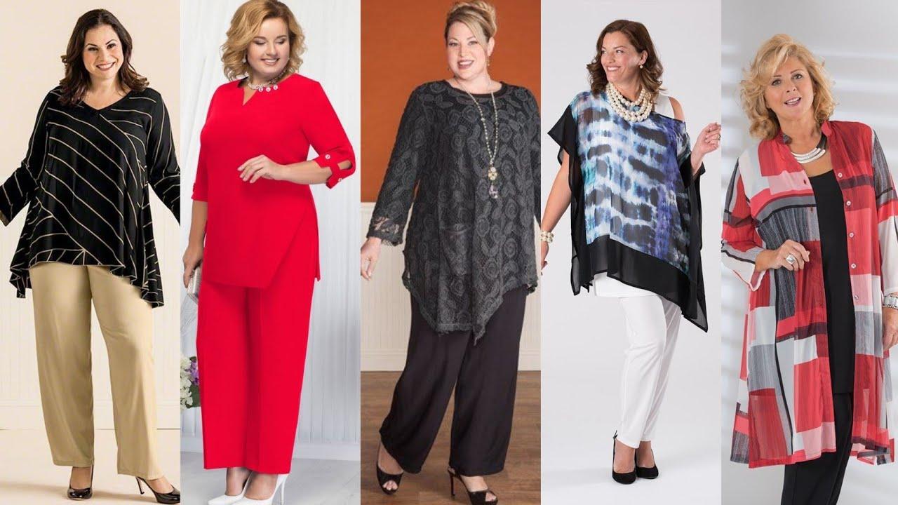 Moda Para Senoras Gorditas De 50 A 60 Anos Moda 2020 Youtube