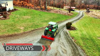 Gambar cover Regrading gravel driveway...tips, tools and techiques explained