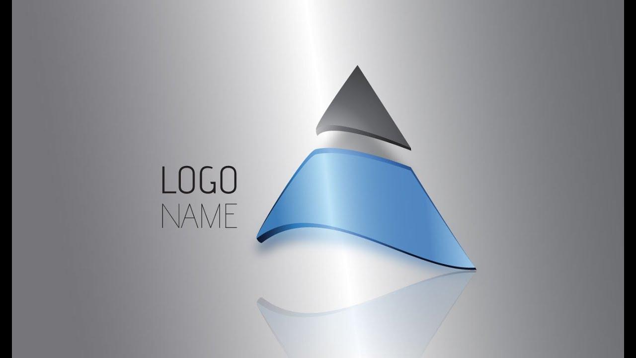 Illustrator Tutorial | 3D Logo Design (Trilateral) - YouTube