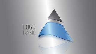 Illustrator Tutorial | 3D Logo Design (Trilateral)