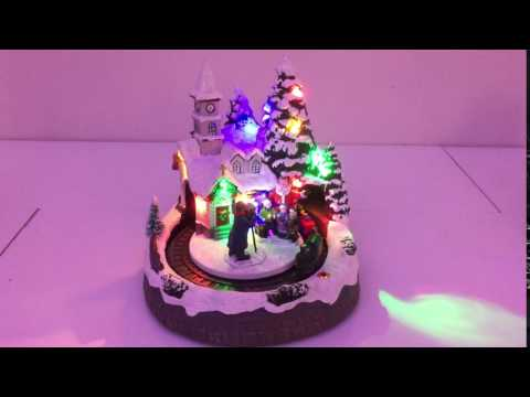 Christmas Village Musical Scene