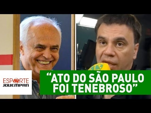 """""""Ato do São Paulo foi tenebroso"""", diz Beting sobre árbitro de vídeo"""