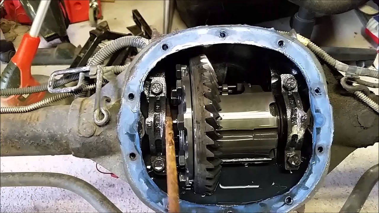 Tacoma Rear Differential Diagram Bad Carrier Bearings 10 Bolt Youtube