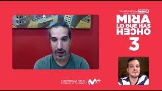 'Mira lo que has hecho' | Entrevista a Javier Ruiz Caldera