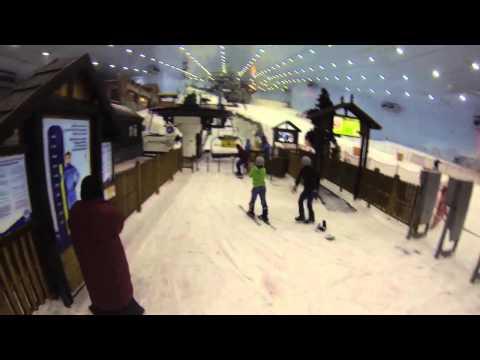 Ski Dubai April 25 2014 - GoPro Helmet footage