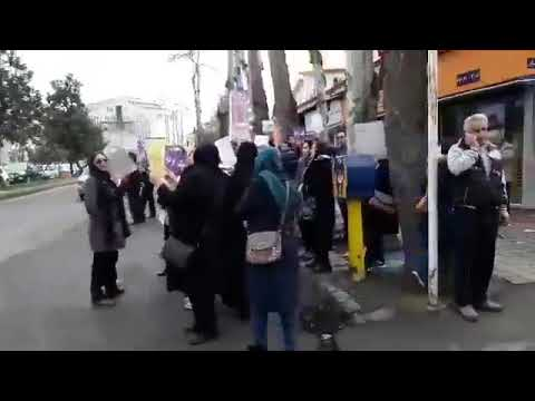 Iran-The protest of the loathsome money in Rasht city