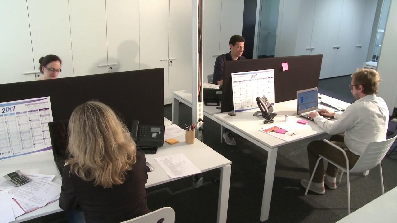 Le monde merveilleux de l 39 espace de travail partag youtube for Espace minimum de travail