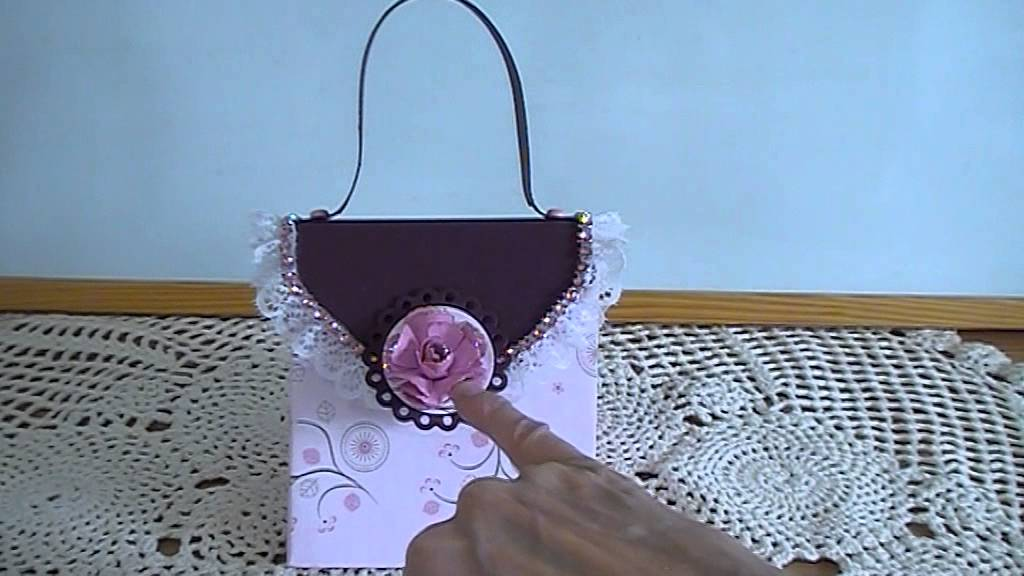 Explosion Bag Purse May 2017 Card Challenge On The Craft Hole Facebook You