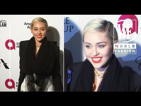 Celebrity Style Miley Cyrus In Schiaparelli Couture Youtube