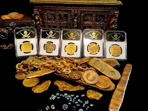 AUTHENTIC PIRATE SHIPWRECK TREASURE GOLD COINS